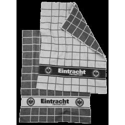 Eintracht Frankfurt Geschirrtücher, Tuch 2er Set SGE - plus Lesezeichen I love Frankfurt