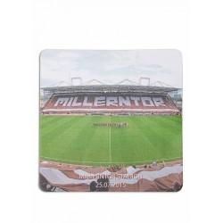FC St. Pauli Mousepad Millerntor Stadion Mauspad - Plus Aufkleber Fans gegen Rechts