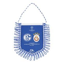 FC Schalke 04 Auto Banner, Wimpel Champions League Galatasaray - plus Lesezeichen I love Gelsenkirchen