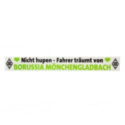 Borussia Mönchengladbachg Autoaufkleber BMG Nicht hupen - plus Lesezeichen I love Mönchengladbach