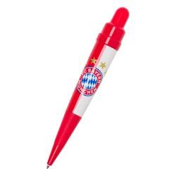 """FC Bayern München Soundkugelschreiber, Kugelschreiber, Kuli Stern des Südens FCB plus Lesezeichen """"I love München"""""""
