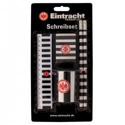 Eintracht Frankfurt Schreibset 5-teilig SGE plus Lesezeichen I love Frankfurt