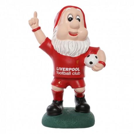 FC Liverpool Gartenzwerg Jubel, Zwerg, garden gnom LFC plus Aufkleber Wir lieben Fußball