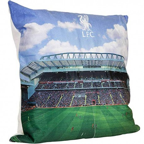 FC Liverpool Kissen LED Anfield Road Stadion LFC plus Aufkleber Wir lieben Fußball