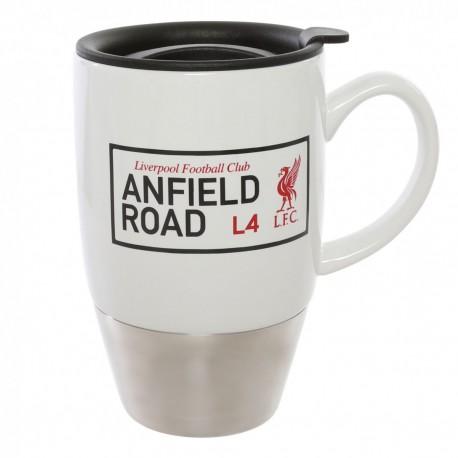 FC Liverpool Thermobecher mit Griff Kaffee Becher,Tasse - Mug, Coffee to go LFC