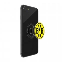 Borussia Dortmund Popsocket schwarzgelb, Handyhalterung BVB plus Lesezeichen I love Dortmund