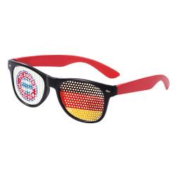 FC Bayern München Fanbrille, Spaßbrille FCB plus Lesezeichen I love München