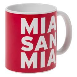 FC Bayern München Tasse Mia san mia, Kaffeetasse, Mug FCB- plus Lesezeichen I love München