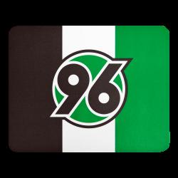 Hannover 96  Mousepad Logo, Mauspad H96 - plus  Lesezeichen I love Hannover