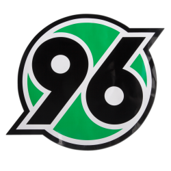 Hannover 96 Aufkleber XXL, Sticker, Autoaufkleber Logo H96 - plus Lesezeichen I love Hannover