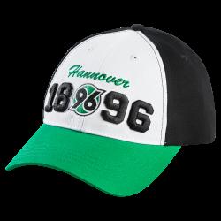 Hannover 96 Basecap 1896, Cap, Schildmütze, Kappe H96 - plus Lesezeichen I love Hannover