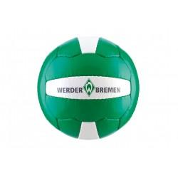 SV Werder Bremen Fußball, Ball Gr. 5 grün - plus Lesezeichen I Love Bremen