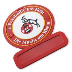 1. FC Köln Namensschild - plus Lesezeichen I love Köln