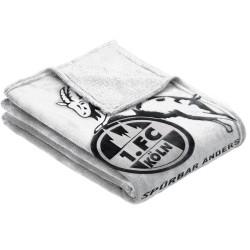 1. FC Köln Flanell Decke Logo, Kuscheldecke, Decke - plus Lesezeichen I love München