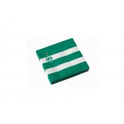 Werder Bremen Servietten Logo Streifen 20er Set - plus Lesezeichen I Love Bremen