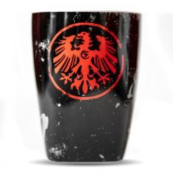 Eintracht Frankfurt Tasse Retro 1920,  Kaffeetasse, Pott SGE - plus Lesezeichen I love Frankfurt