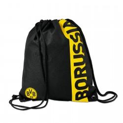 Borussia Dortmund Turnbeutel Borussia, Sportbeutel, Gymbag BVB plus Lesezeichen I love Dortmund