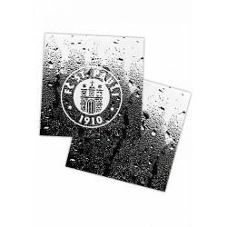 FC St. Pauli Fliesenaufkleber Logo, Aufkleber 2er Set plus Aufkleber Fans gegen Rechts