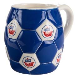 FC Hansa Rostock Tasse Fußball, Kaffeetasse, Becher, coffee pot FCH plus Lesezeichen Wir lieben Fußball