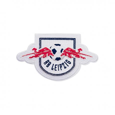 RB Leipzig Aufnäher Logo, Logo-Patch small RBL - plus Lesezeichen Wir lieben Fußball