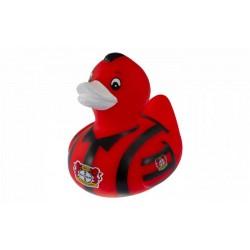 Bayer 04 Leverkusen Badeente, Quietscheente, Ente, Duck plus Lesezeichen Wir lieben Fußball