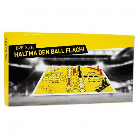 Borussia Dortmund Haltma den Ball flach-Spiel, Gesellschaftsspiel, Würfelspiel BVB plus Lesezeichen I love Dortmund