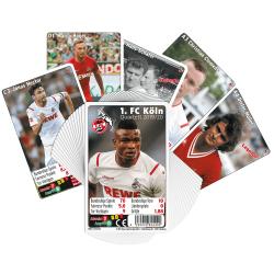 1. FC Köln Quartett 2019/20 Kartenspiel - plus Lesezeichen I love Köln