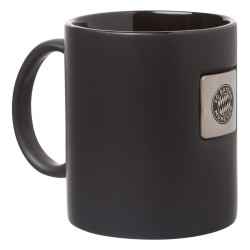 Bayern München Tasse Platine, Kaffeetasse, Mug FCB - plus Lesezeichen I love München