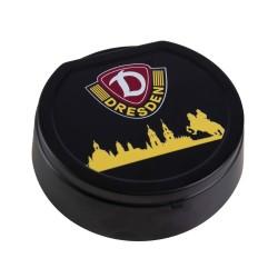 SG Dynamo Dresden Aschenbecher mit Deckel Skyline, Klappaschenbecher, Ascher, ashtray SGD - plus Lesezeichen Wir lieben Fußball