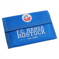 FC Hansa Rostock Geldbörse Nylon blau, Portemonnaie, Geldbeutel FCH -  plus Lesezeichen Wir lieben Fußball