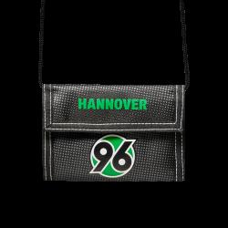 """Hannover 96 Geldbeutel, Portemonnaie, Geldbörse H96 - plus gratis Lesezeichen """"I love München"""""""
