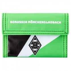 Borussia Mönchengladbach Geldbörse Nylon, Portmonee, Geldbeutel BMG - plus Lesezeichen I love Mönchengladbach