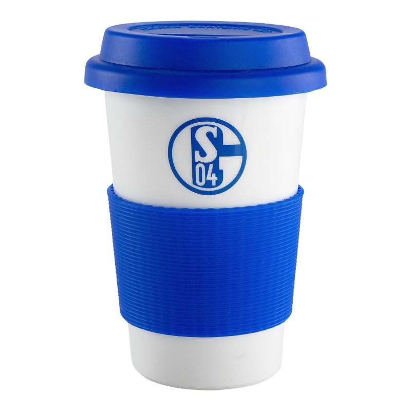 Kaffeebecher Plus Lesezeichen I Love Gelsenkirchen Hymne FC Schalke 04 Tasse Mug S04 Kaffeetasse