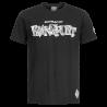 Eintracht Frankfurt T-Shirt - Graffiti - Gr. M Shirt schwarz SGE - Plus Lesezeichen I love Frankfurt